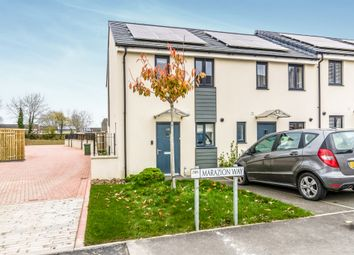 Thumbnail 2 bed end terrace house for sale in Marazion Way, Plymouth