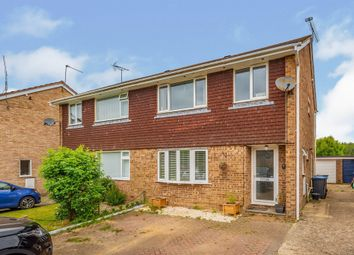 Thumbnail 3 bed semi-detached house for sale in Oak Close, Copthorne, Crawley