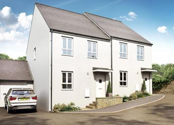 Thumbnail 3 bed semi-detached house for sale in St Martin Road, St. Martin, Looe, Cornwall