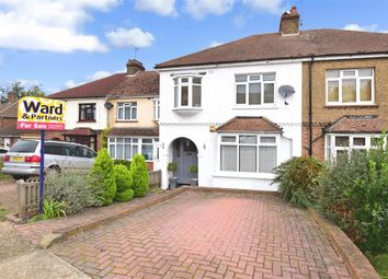 Thumbnail 3 bed semi-detached house for sale in Wouldham Road, Borstal, Rochester, Kent