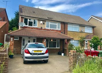 Thumbnail 3 bed semi-detached house to rent in Northborough Road, Slough