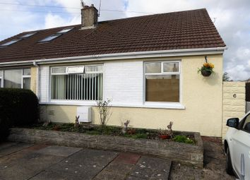 Thumbnail 2 bed semi-detached bungalow for sale in Tennyson Drive, Cefn Glas, Bridgend.