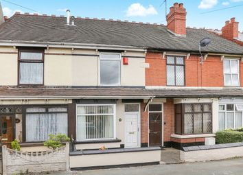 Thumbnail 2 bedroom terraced house for sale in Victoria Road, Wednesfield, Wolverhampton