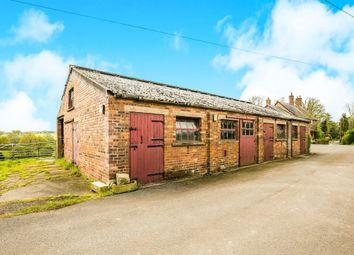 Thumbnail 3 bed barn conversion for sale in Tilstone Bank, Tilstone Fearnall, Tarporley
