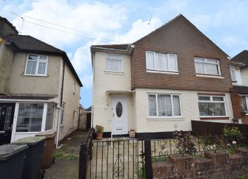 Thumbnail 3 bedroom semi-detached house for sale in Weatherby Road, Luton