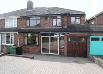 Thumbnail 4 bed semi-detached house for sale in Carol Crescent, Halesowen