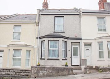 Thumbnail 3 bed terraced house for sale in Holdsworth Street, Pennycomequick, Plymouth