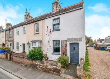 Thumbnail 2 bed end terrace house for sale in Field Terrace Road, Newmarket