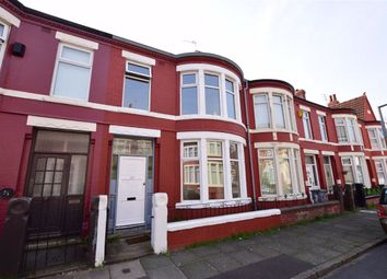 Thumbnail 3 bedroom terraced house to rent in Lumley Road, Wallasey, Merseyside