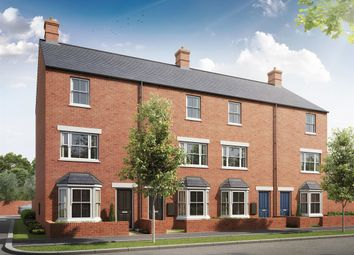 "Thumbnail 3 bed town house for sale in ""The Whiston"" at Heathencote, Towcester"