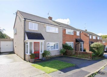 Thumbnail 3 bed semi-detached house for sale in Cleeve Crescent, Bletchley, Milton Keynes, Bucks