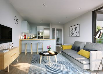 Thumbnail 1 bed flat for sale in Haggerston Road, Haggerston