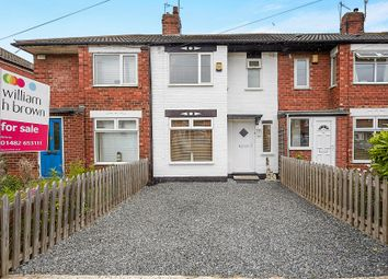 Thumbnail 2 bedroom terraced house for sale in Moorhouse Road, Hull