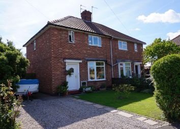 Thumbnail 3 bed semi-detached house for sale in Leeside, York