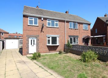 Thumbnail 3 bed semi-detached house for sale in Woodland Crescent, Swillington, Leeds
