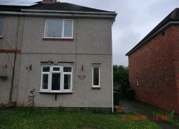 Thumbnail 2 bed semi-detached house for sale in Walsall Street, Coventry