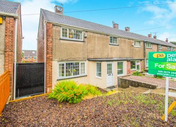 Thumbnail 3 bedroom end terrace house for sale in Ilfracombe Crescent, Llanrumney, Cardiff