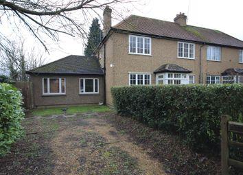 Thumbnail 3 bed semi-detached house for sale in Hilfield Lane, Aldenham, Watford