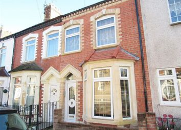 Thumbnail 1 bed terraced house for sale in Pomeroy Street, Cardiff