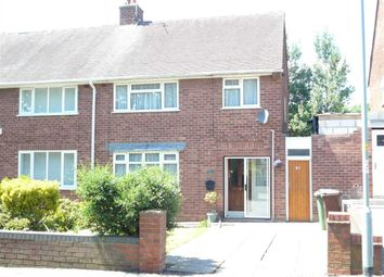 Thumbnail 3 bed semi-detached house for sale in Ashmore Avenue, Wednesfield, Wolverhampton