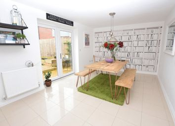 Thumbnail 4 bedroom end terrace house for sale in Burrough Fields, Cranbrook, Exeter