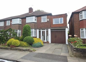 Thumbnail 4 bed semi-detached house for sale in Edenfield Lane, Worsley, Manchester