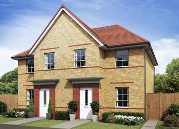 "Thumbnail 3 bed end terrace house for sale in ""Palmerston"" at Morgan Drive, Whitworth, Spennymoor"