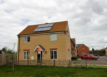 Thumbnail 3 bed end terrace house for sale in Braeburn Road, Deeping St. James, Peterborough
