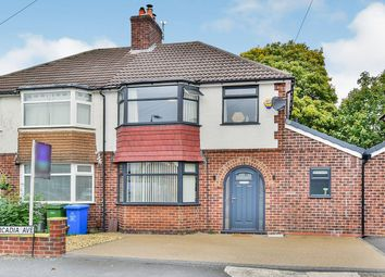 Thumbnail 3 bed semi-detached house for sale in Arcadia Avenue, Sale, Greater Manchester