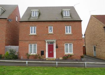 Thumbnail 5 bedroom detached house for sale in Windermere Drive, Corby