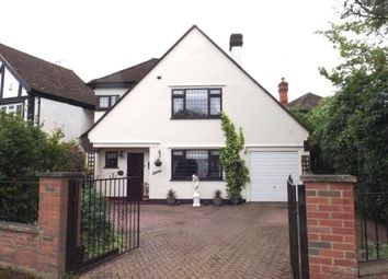 Thumbnail 3 bed detached house for sale in Silver Birch Avenue, North Weald, Epping, Essex
