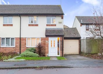 Thumbnail 3 bed semi-detached house for sale in Plattes Close, Swindon, Wiltshire
