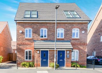 Thumbnail 3 bed town house for sale in Wolfberry Drive, Norris Green, Liverpool