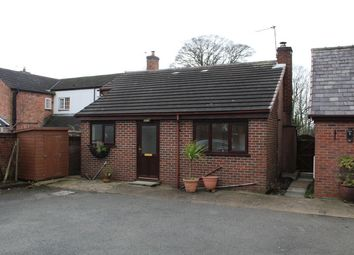 Thumbnail 1 bed mews house to rent in The Annexe, Rosemount Cottage, 12 Utkinton Road, Tarporley, Cheshire