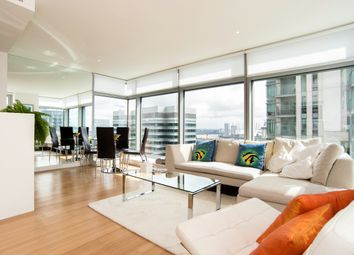 Thumbnail 2 bed flat for sale in Pan Peninsula Square, West Tower, Canary Wharf