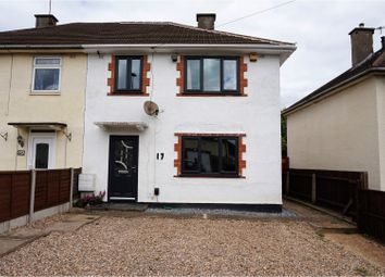 Thumbnail 3 bedroom semi-detached house for sale in Cheriton Road, Leicester