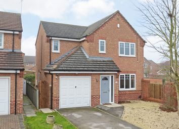 Thumbnail 4 bed detached house for sale in Morehall Close, York