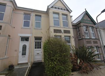 Thumbnail 3 bedroom terraced house to rent in Bickham Park Road, Plymouth