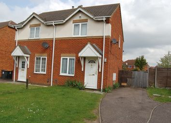Thumbnail 2 bed semi-detached house to rent in Prudden Close, Elstow