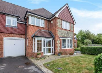 Thumbnail 4 bed semi-detached house for sale in Fiveways Close, Baydon, Marlborough