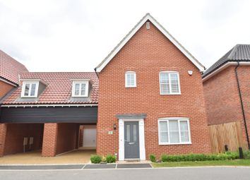 Thumbnail 3 bed link-detached house for sale in Foundry Close, Glemsford, Sudbury