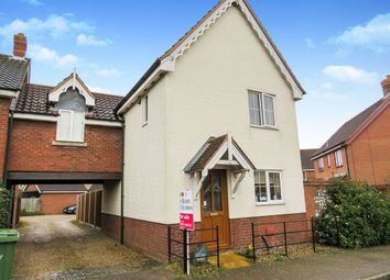 Thumbnail 3 bed link-detached house for sale in Bramble Way, Wymondham