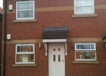 Thumbnail 2 bed flat to rent in Highfield Close, Dunscroft, Doncaster