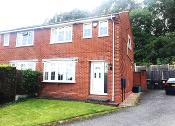 Thumbnail 3 bed semi-detached house to rent in Francis Drive, Loughborough