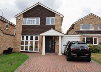 Thumbnail 3 bed detached house for sale in Crutchley Road, Wokingham