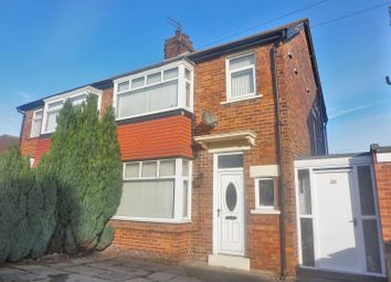 Thumbnail 3 bed semi-detached house for sale in Glanton Road, North Shields