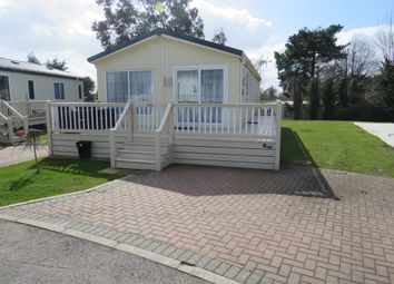 Thumbnail 3 bed lodge for sale in London Road, Clacton-On-Sea