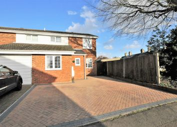 Thumbnail 4 bed semi-detached house for sale in Gage Close, Royston