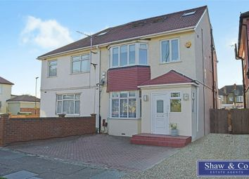 Thumbnail 4 bed semi-detached house for sale in Hall Road, Isleworth, Middlesex