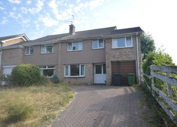 Thumbnail 4 bed semi-detached house for sale in Quarry Lane, Broadfields, Exeter, Devon
